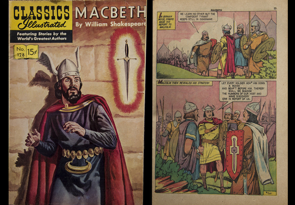 MacBeth Comic CIMB01a