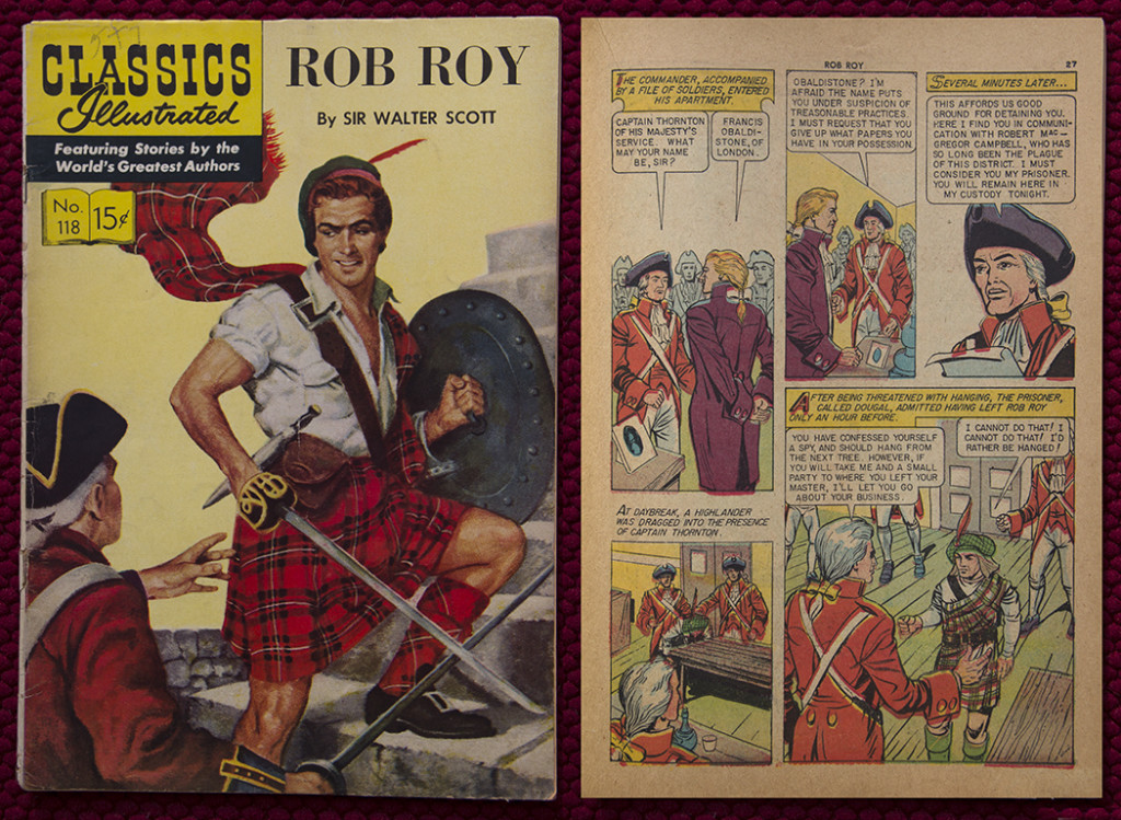 Rob Roy Comic CSRR01b