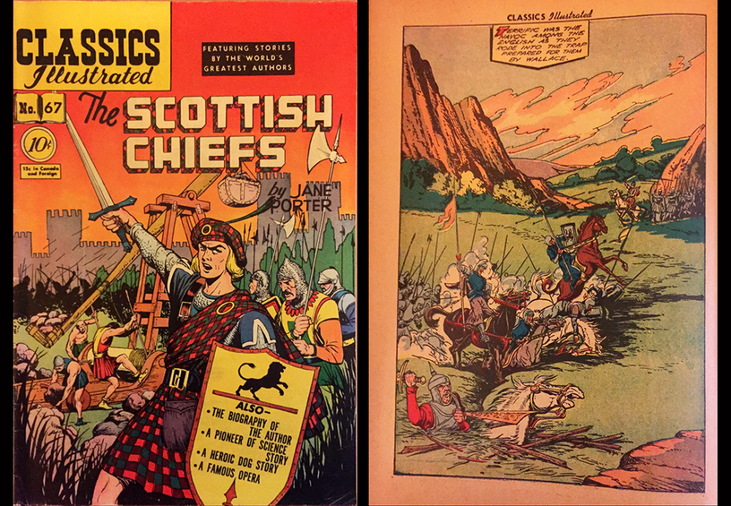 Scottish Chiefs Comic CISC01b